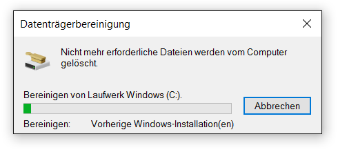 Windows 10 Update bereinigen 22