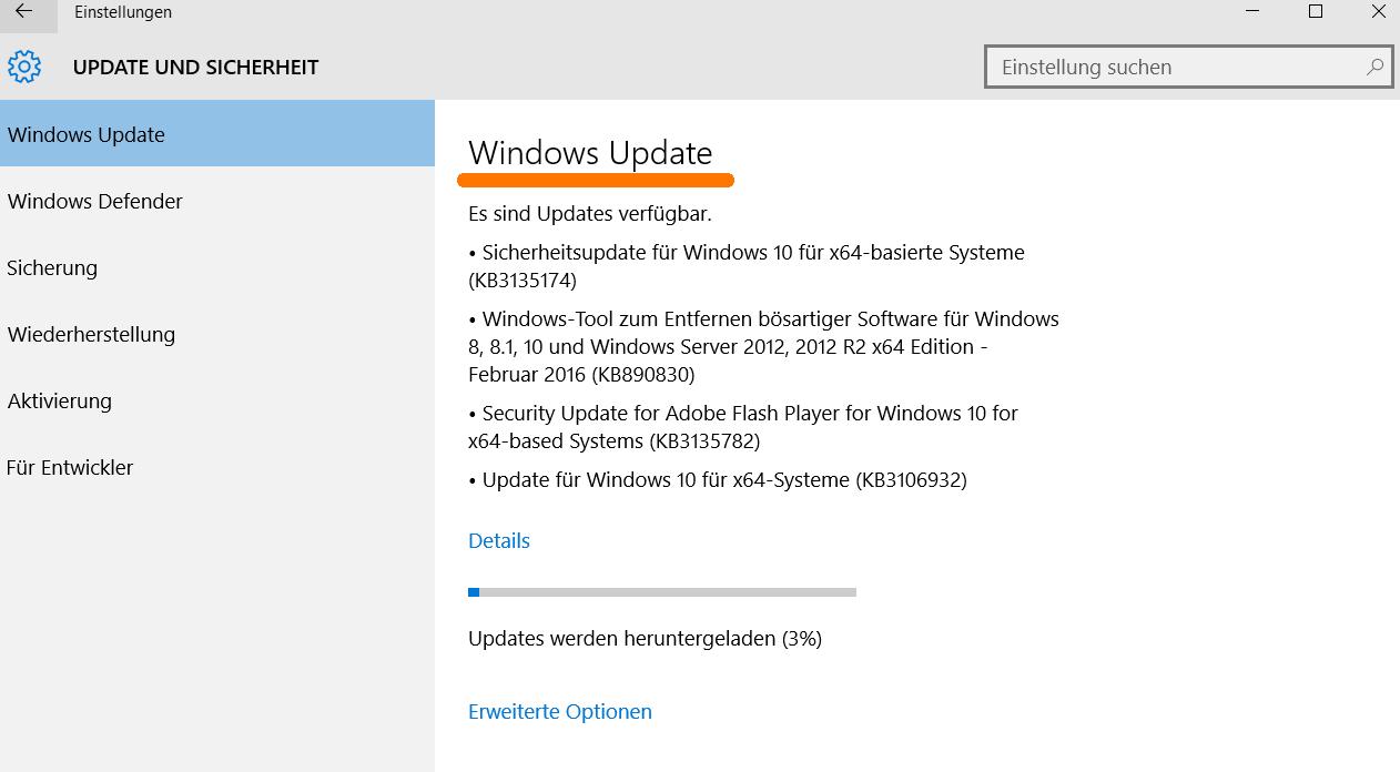 Windows Update Bereinigen