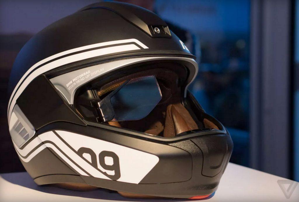 bmw zeigt motorrad helm mit head up display. Black Bedroom Furniture Sets. Home Design Ideas