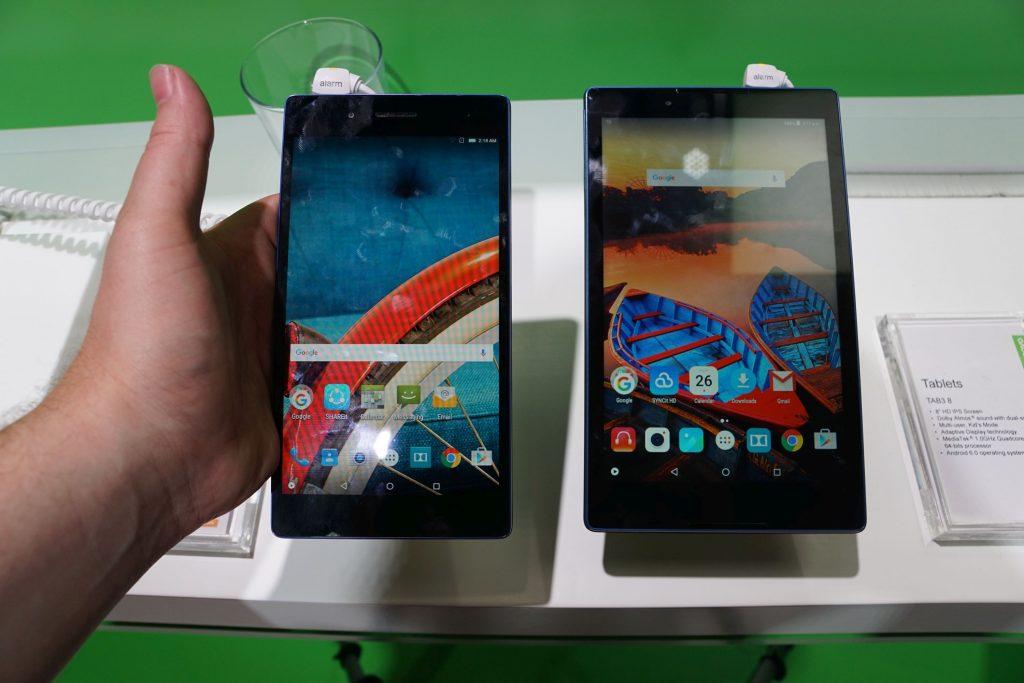 Lenovo präsentiert zwei neue Android Einsteiger-Tablets