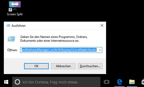 Windows 10 Spotlight Bilder Als Desktop Hintergrund Nutzen