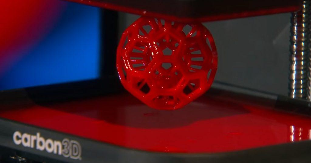 """Carbon3D Clip: 100x schneller """"drucken"""", als mit einem 3D Drucker"""