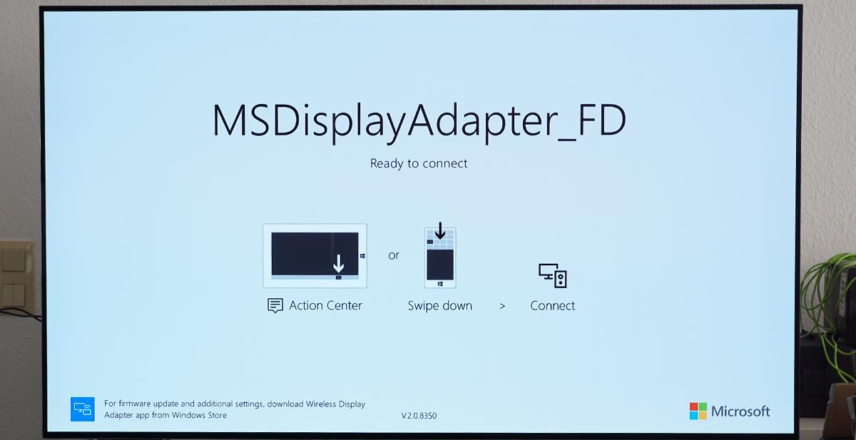 Testbericht Zum Microsoft Wireless Display Adapter Version 2