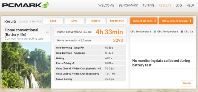 Fujitsu Lifebook A556 NG pc mark 8 akku