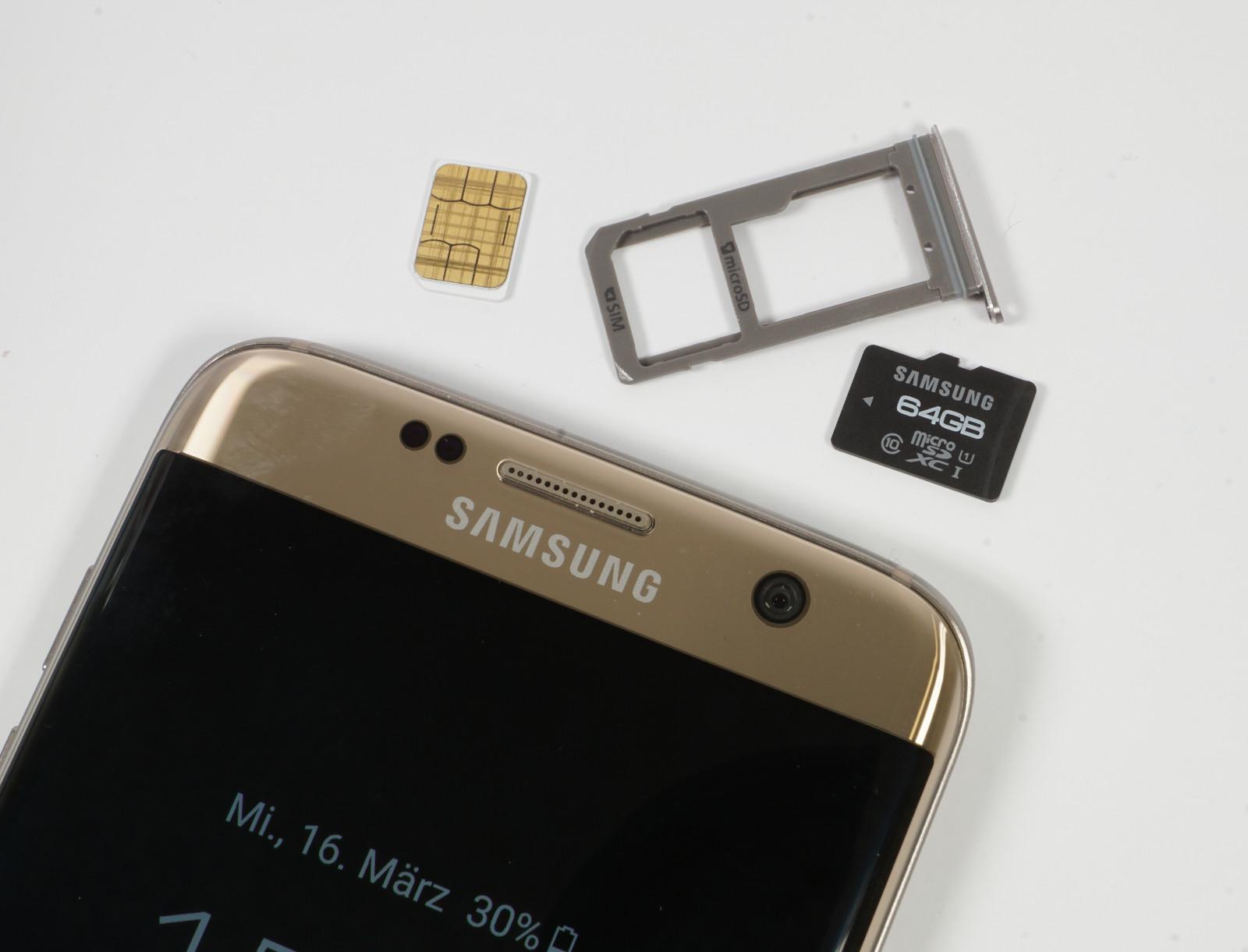Samsung Galaxy S7 Sd Karte Maximale Größe.Im Test Samsung Galaxy S7 Und Edge Mit Ecken Und Kanten