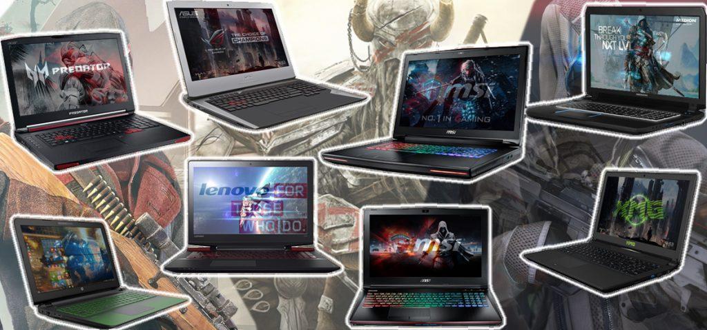 Unsere besten Gaming-Notebooks im Vergleichstest