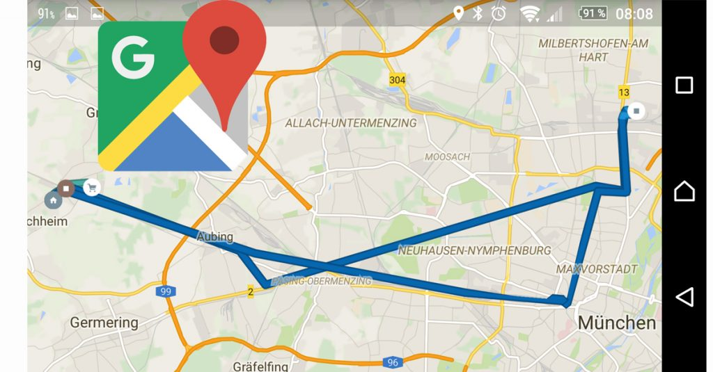 Praxistipp: Google Maps Timeline kann manchmal recht peinlich sein