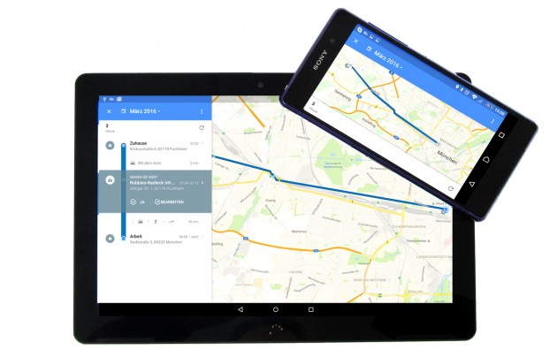Google-Maps-Geraete-Anzeige