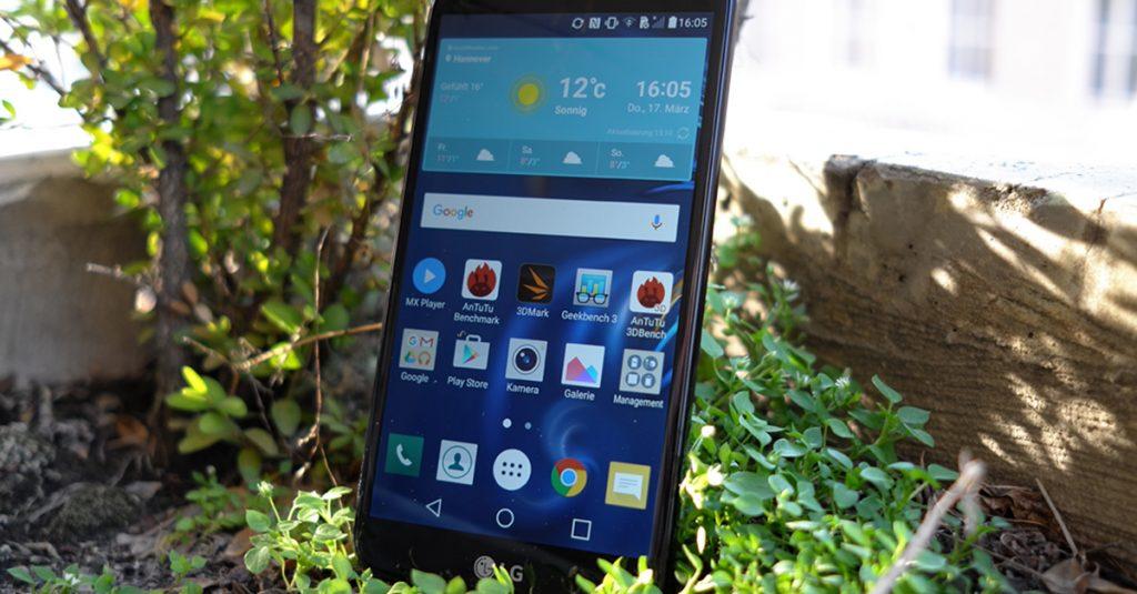 Test LG K10: Großes Smartphone mit guten Aussichten