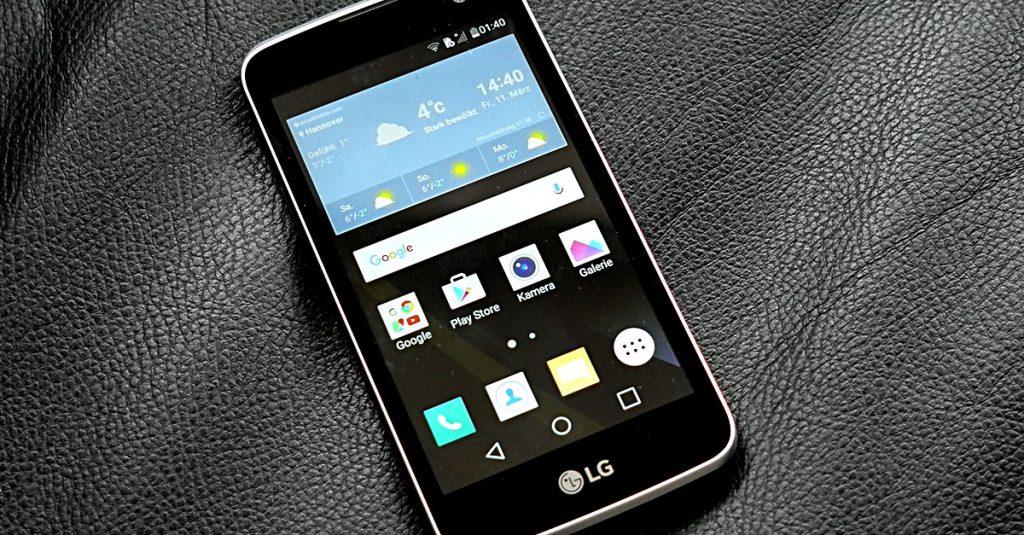 Test LG K4 LTE: Handliches Einsteiger-Smartphone zum Sparpreis