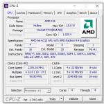 Angaben zur integierten AMD Grafik