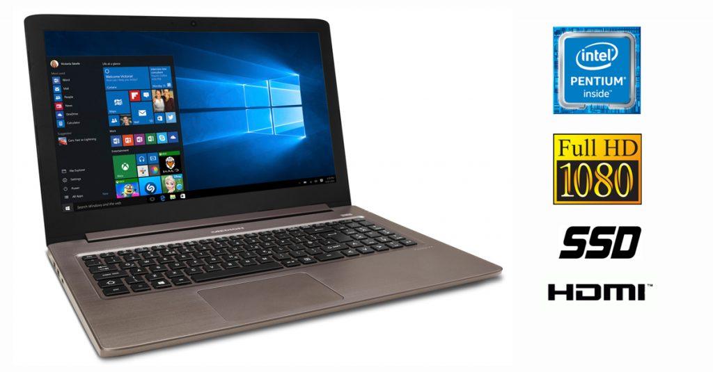 Medion Akoya S6217 – Office Notebook mit Alu-Gehäuse und FullHD-Display [Tester gesucht]