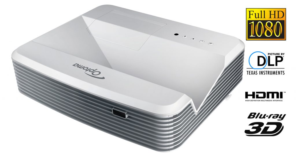 Optoma GT5000 Beamer Ultrakurzdistanzbeamer mit 3.000 ANSI-Lumen