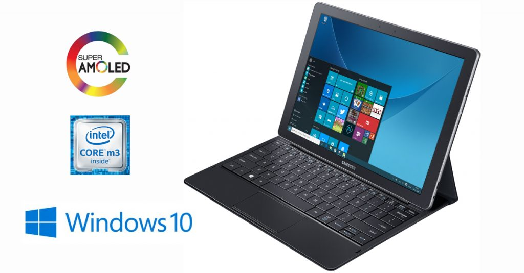 Test: Samsung Galaxy TabPro S W703 Tablet Windows 10 Pro