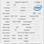 Angaben zum Intel Grafik