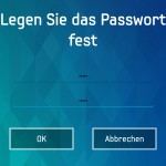 Passwort festlegen