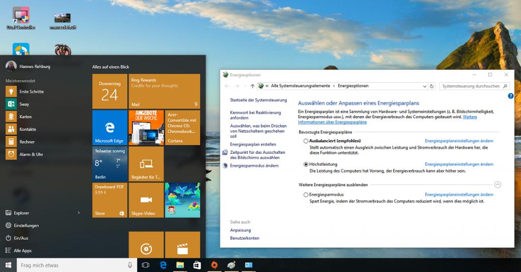 HowTo: Windows 10 Schnellstart einrichten