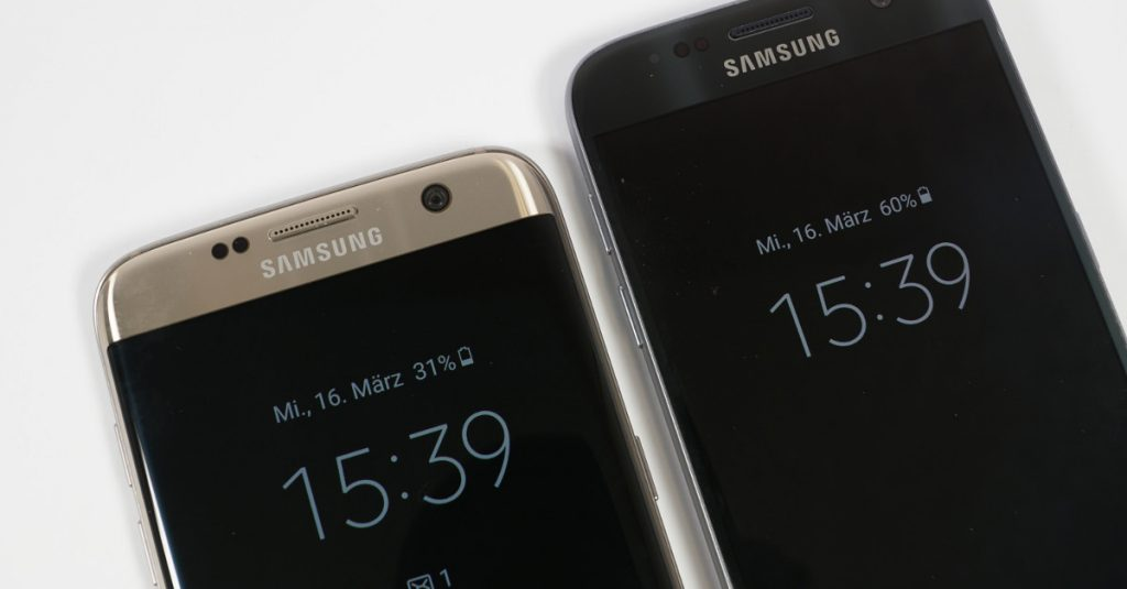 Vergleichstest Samsung Galaxy S7 und Galaxy S7 edge: High-End-Smartphones mit Ecken und Kanten