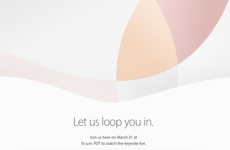 Apple Event am 21. März – neues iPhone und iPad erwartet