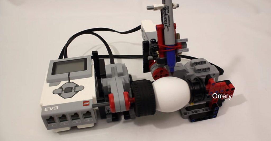 DIY: Ostereier-Bemalmaschine aus Lego
