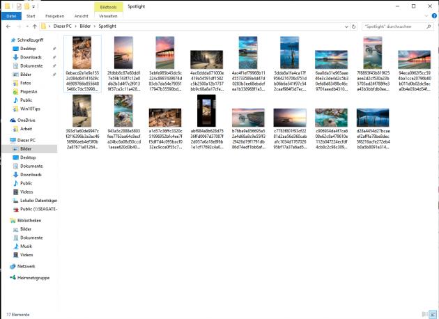 Spotlight Bilder als Desktop Hintergrund 5