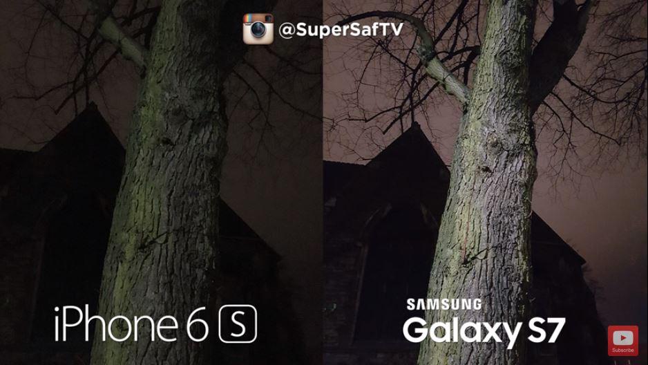 Kamera des Galaxy S7 und iPhone 6s im direkten Vergleich