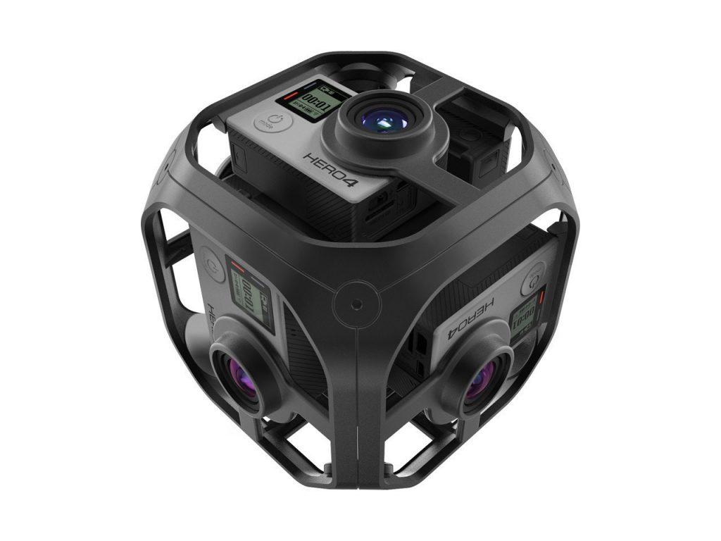 GoPro startet mit eigener VR Videoplattform und neuem VR Camera Rig