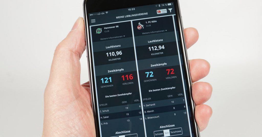 App-Quicktipp Hermes Bundesliga Facts: Kostenlose Echtzeit-Daten zu Fußball-Bundesliga-Spielen