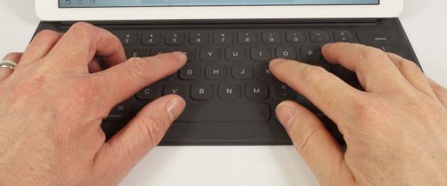 Smart Keyboard Benutzung