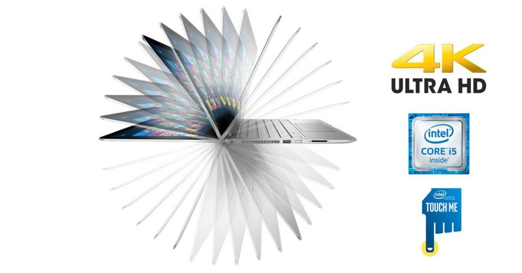 HP Spectre x360 15 – Highend Convertible jetzt mit 15,6-Zoll-Display und 4k-Auflösung