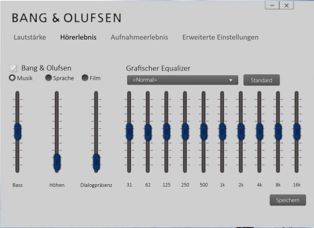 HP Spectre X360 15 - Bang und Olufsen