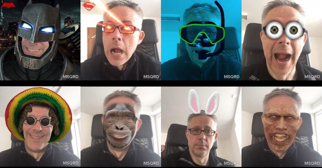 App-Quicktipp Android und iOS: Effektvolle Selfies mit MSQRD von Facebook