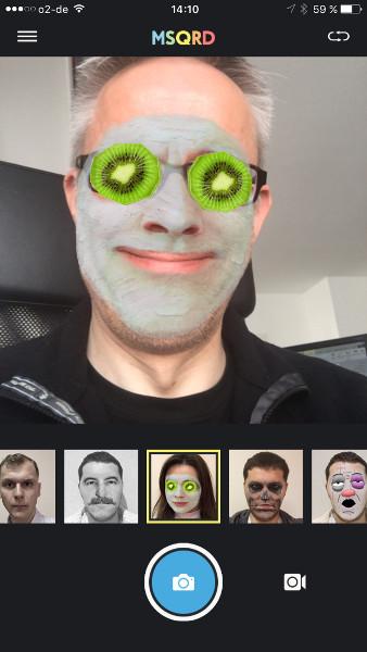 MSQRD App-Quicktipp