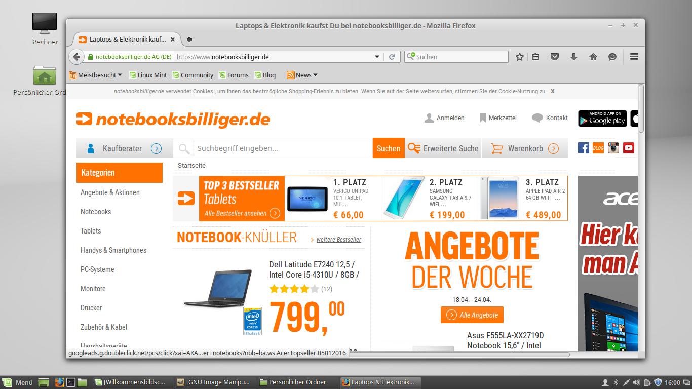 Mint – App – Firefox