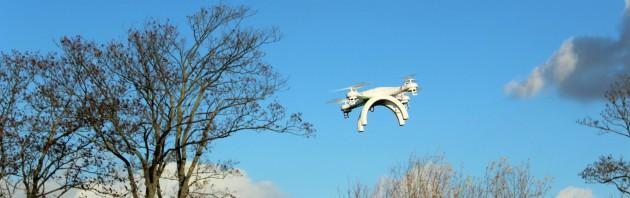 Multicopter mit Baum