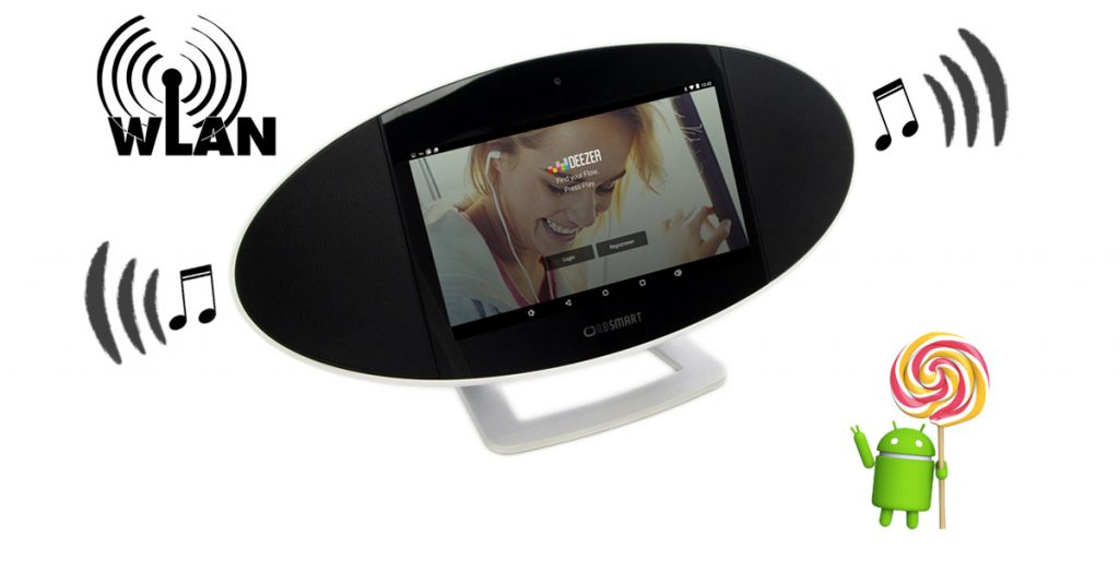 Orbsmart Soundpad 500: Vielseitiges Android Internetradio mit 7-Zoll-Touchscreen