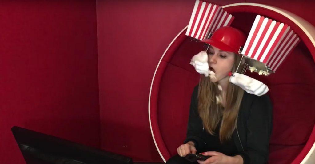 DIY: Popcorn-Helm für Cineasten zum Selberbauen