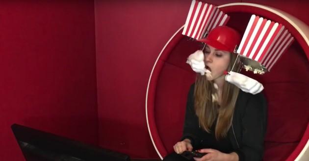 Popcorn-Helm