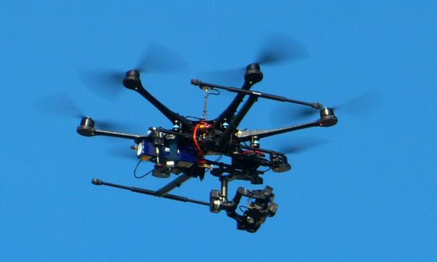 Schwerer Multicopter