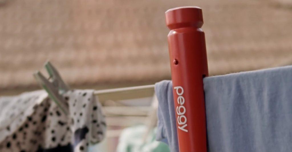 Smarte Wäscheklammer: Peggy informiert über den besten Zeitpunkt zum waschen
