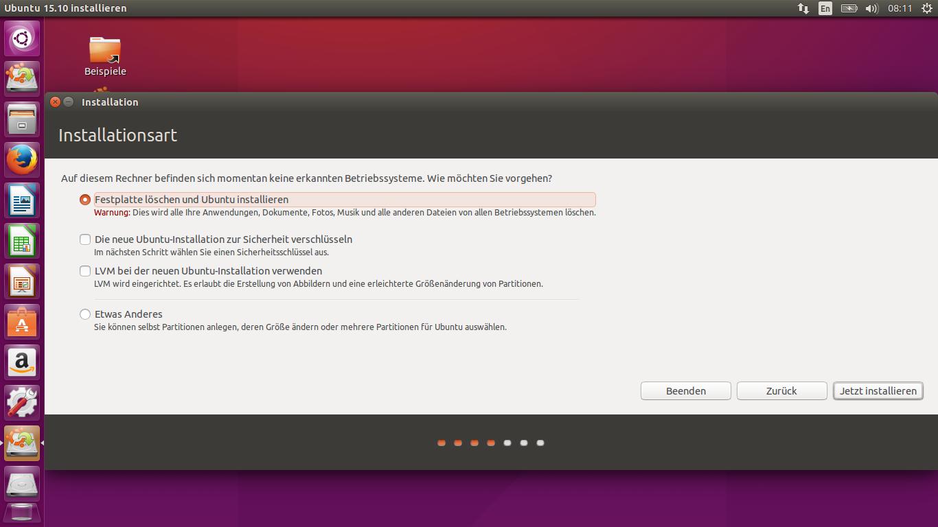 Ubunto 15.10 Installation 05