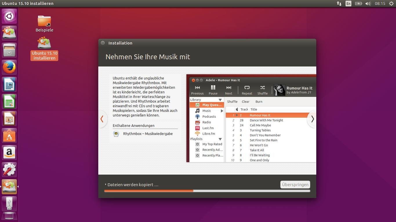 Ubunto 15.10 Installation 11