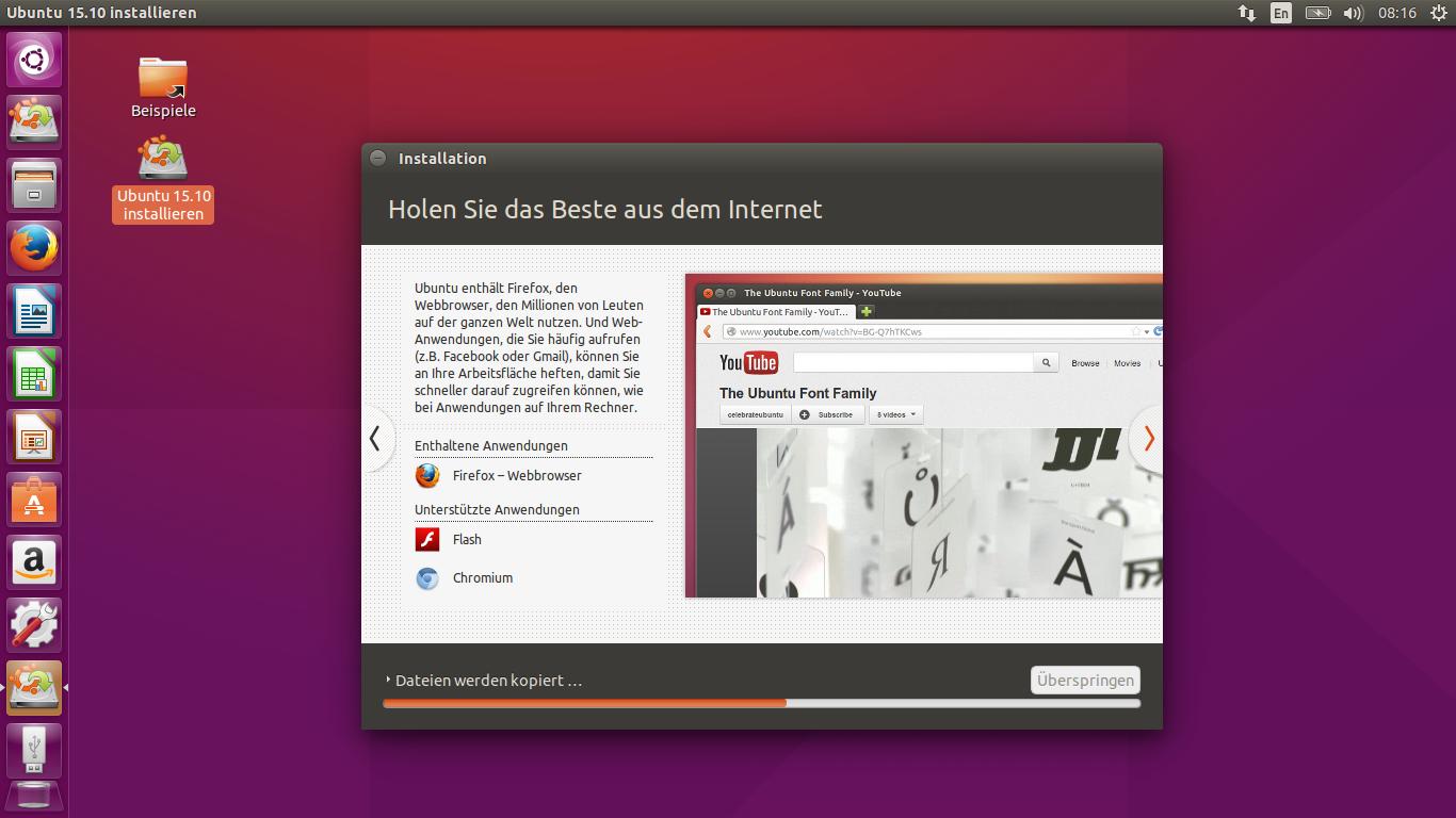 Ubunto 15.10 Installation 15