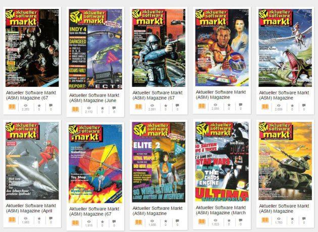 ASM-Hefte auf archive.org