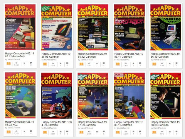 Happy Computer auf archive.org