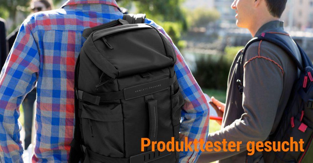 Produkttester gesucht: 5 Odyssey-Rucksäcke von HP suchen einen neuen Besitzer