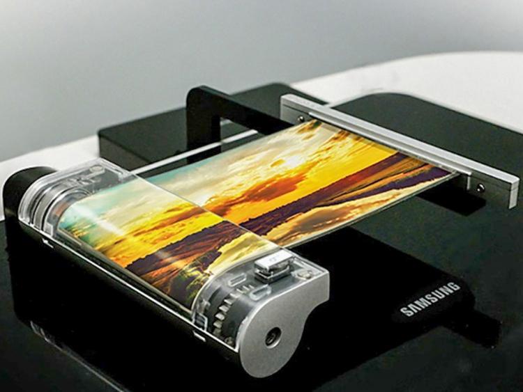 Samsung zeigt flexibles 5,7 Zoll Display mit 2k Auflösung