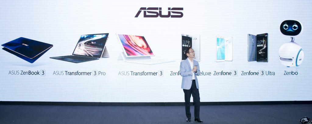 Asus auf der Computex: Smartphones, Notebook, 2-in-1 und einen Roboter