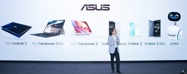 ASUS hosts Zenvolution press event revealing the first robot and latest mobile devic
