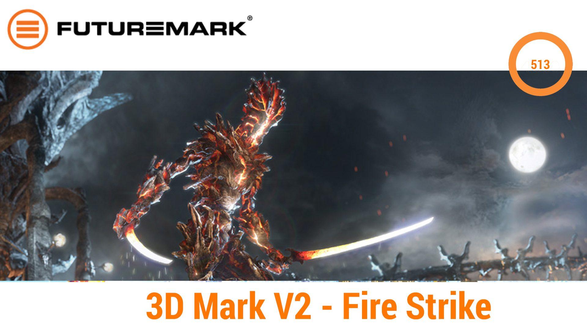 Aspire Switch 12S – 3D-Mark V2 Fire Strike